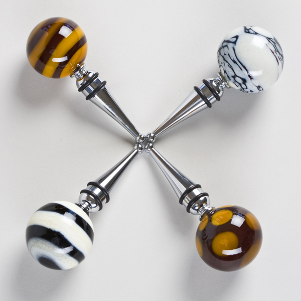 Murano Glass Wine Stoppers (Set of 2)